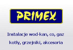 PRIMEX w Bydgoszczy - junkers, instalacje, wod-kan, co, gaz, kotły, grzejniki, akcesoria